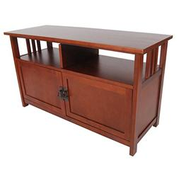Alaterre Artisan TV Stand, Cherry