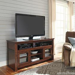 Ashley Entertainment Large Tv Stand Media Console Storage Ca