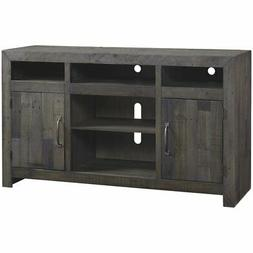 """Ashley Furniture Mayflyn 62"""""""" TV Stand in Charcoal"""
