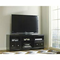 """Ashley Shay 63"""" TV Stand in Black"""