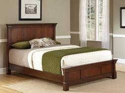 The Aspen Collection Rustic Cherry Queen Bed