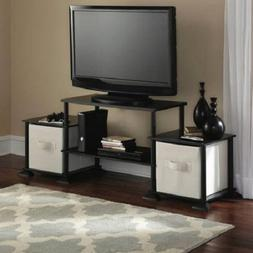 Mainstay` No-Tool Assembly 3-Cube Entertainment Center for T