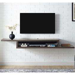 Martin Furniture  Asymmetrical Floating Wall Mounted TV Cons
