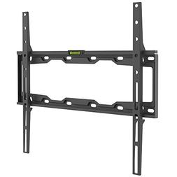 Barkan Auto-lock Patent Fixed Curved/ Flat TV Wall Mount for