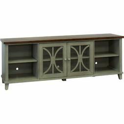 "Martin Furniture BA380G Console, 80"", Weathered Green"