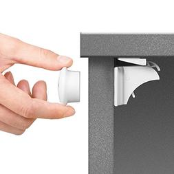Toplus Baby Safety Magnetic Cabinet Locks - No Tools Or Scre