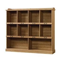 Sauder Barrister Lane Bookcase in Scribed Oak Finish