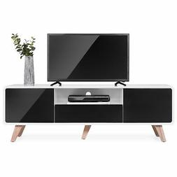 BCP 59in Mid-Century Modern TV Stand Media Console for Up to