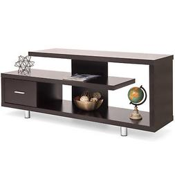 BCP Media Console TV Stand w/ 3 Shelves, Drawer