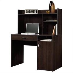 Sauder Beginnings Cherry Desk with Hutch