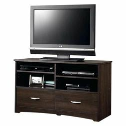 "Sauder Beginnings Cinnamon Cherry TV Stand up to 46"", Media"