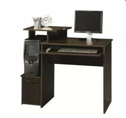 Sauder Beginnings Student Desk, Cinnamon Cherry Finish