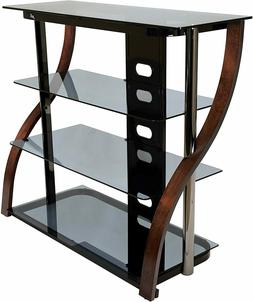 """Bell`O CW340 40"""" Tall TV Stand for TVs up to 42"""", Espresso"""