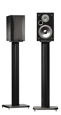 """SANUS BF31-B1 31"""" Speaker Stands for Bookshelf Speakers up t"""