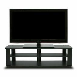Furinno 11191BK THE Entertainment Center TV Stand, Black