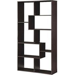 Bookcase Storage Organizer 8 Shelves Bookshelf Living Room F