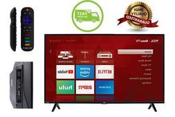 Brand NEW TCL 43S325 43'' 1080p Smart LED Roku TV HDMI USB w