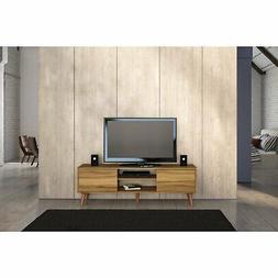 Boahaus Brown Wood 65-inch TV Stand Brown Modern & Contempor