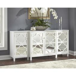Buffet Storage Cabinet Sideboard Entryway TV Stand 3 Pcs Set