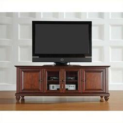 Crosley Cambridge 60 in. Low Profile TV Stand - Vintage Maho