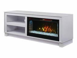 Comfort Smart Cameron Electric Fireplace TV Stand White - CS