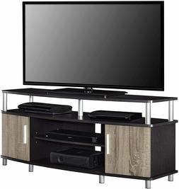 Ameriwood Home Carson 50-inch Espresso/ Sonoma Oak Corner TV
