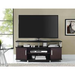 """Carson TV Stand, for TVs up to 50"""", Multiple Finishes black"""