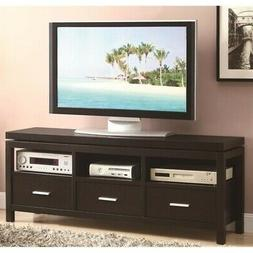 Coaster Home Furnishings 3-drawer TV Stand Cappuccino