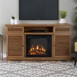 Cavallo Entertainment Unit with Electric Fireplace - ELM