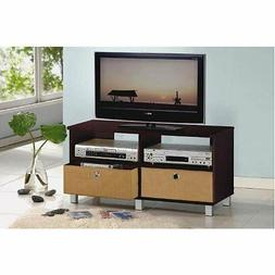 Center Entertainment Tv Stand Media Console Storage Furnitur