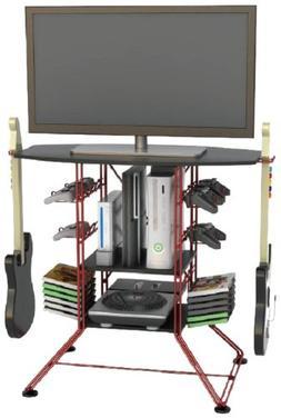 Centipede Gaming Hub - Red Metallic Frame - Black Top