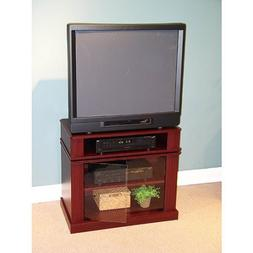 Cherry Tv Stand with Swivel Top, for Tvs up to 32 Universal