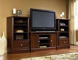 New Cherry Wood Entertainment Center Living Room Furniture T