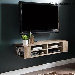 South Shore City Life 48 Wall Mounted Media Console Weathere
