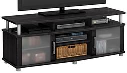 South Shore City Life TV Stand, Gray Oak