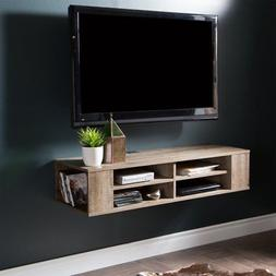 South Shore City Life Wall Mounted Wood Media Console