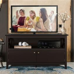"41.7"" Wood Modern TV Cabinet Stand Unit Storage living room"