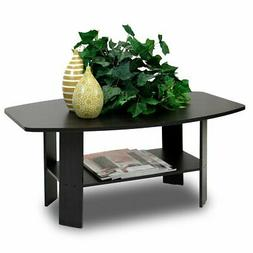Furinno Coffee Table - Easy Assembly, Espresso, 10025