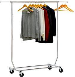 Simple Houseware Commercial Grade Clothing Garment Rack - Ch