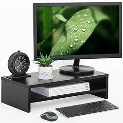 Fitueyes Computer Monitor Riser 21.3 inch 2 Tier Shelves Mon