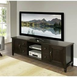 Simpli Home Connaught Solid Wood TV Media Stand up to 80 Inc