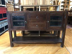 Console, TV Stand, solid teakwood entertainment, living, din