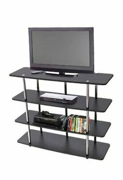 Convenience Concepts Designs2Go XL Highboy TV Stand, Black