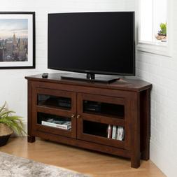Cordoba Traditional Brown Corner Storage Entertainment TV St