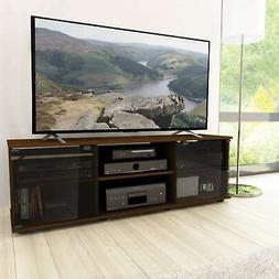 """CorLiving Fiji Maple Wooden TV Stand, for TVs up to 75"""" Brow"""