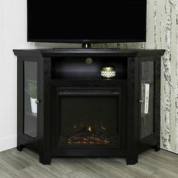 "W. Designs 48"" Corner Fireplace TV Stand"