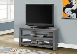 """Monarch Specialties Corner TV Stand, 42"""""""