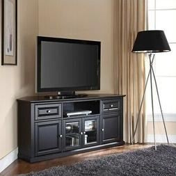 Crosley Furniture 60-inch Corner TV Stand - Black