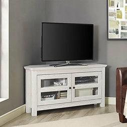 Corner TV Stand Entertainment Media Unit Cabinets Storage Co