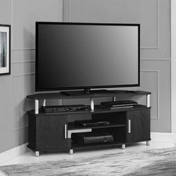 Corner TV Stand Flat Screen Entertainment Center Media Cabin